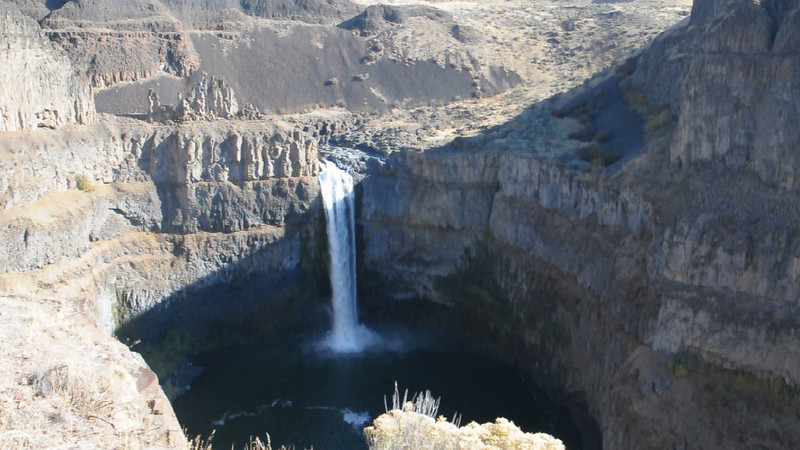 Palouse Falls video
