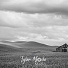 43  G Palouse Field and Barn Sharp BW