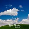 13  G Windmills Blue Skies