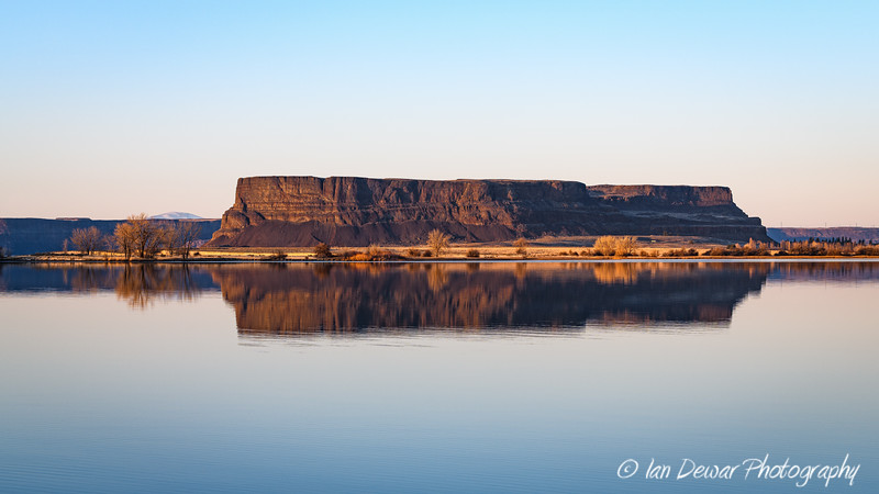 Steamboat Rock Reflection