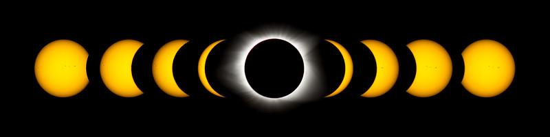 Solar Eclipse Timelapse II
