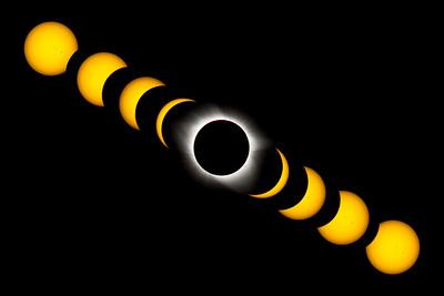 Solar Eclipse Timelapse I