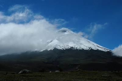Cotopaxi Parque Nacional The highest active volcano in the world and Ecuador's second highest peak