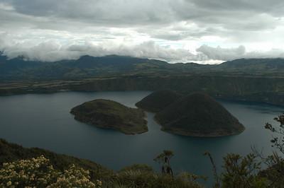 Laguna de Cuicocha North of Quito Ecuador