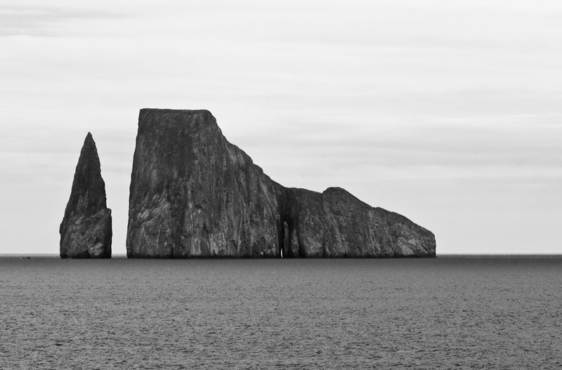Kicker Rock (Leon Dormido) also known as the [Galapagos Kicker Rock] Sleeping Lion