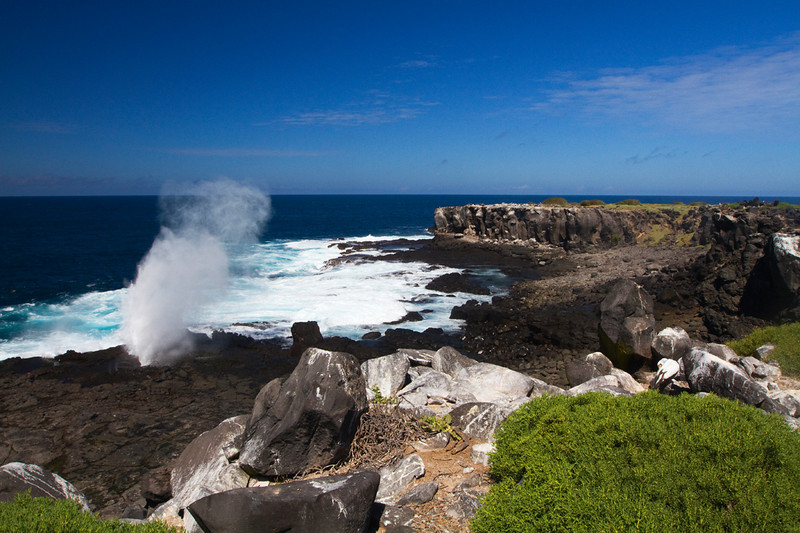 Blow hole, Espanola