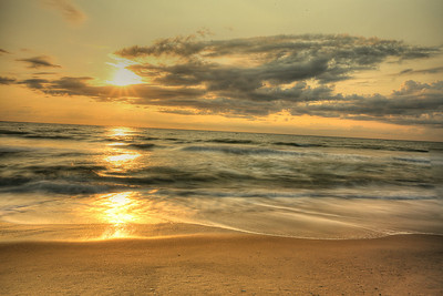Golden Outer Banks Sunrise