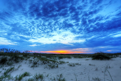 Sunsets never get old on the barrier islands.