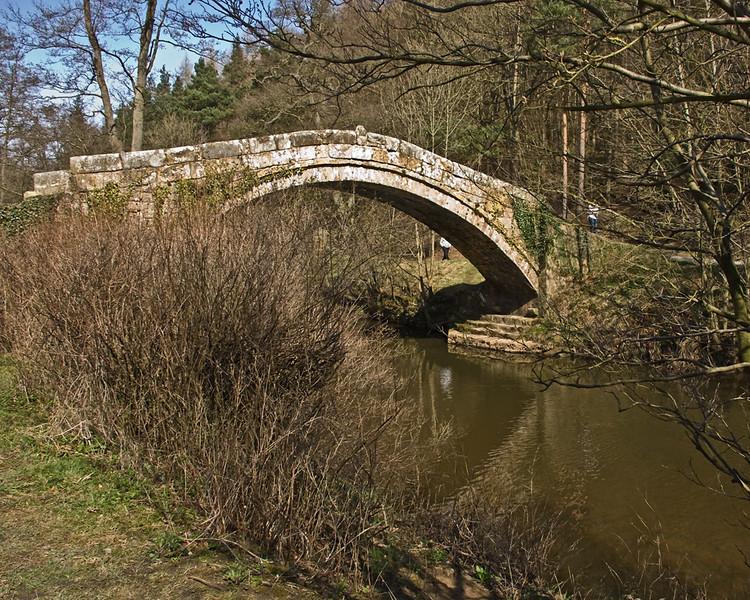 Beggars Bridge Glaisdale in North Yorkshire