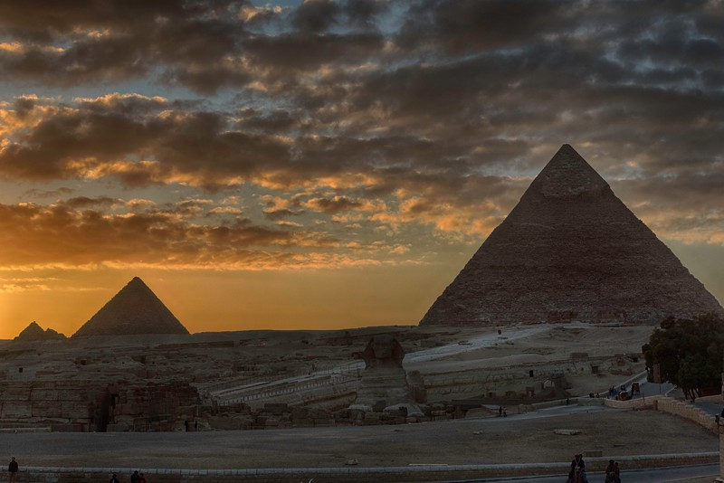 If there were 10 worst pictures of the pyramids, then I'm sure mine tops the list.