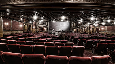 My first view of a Victorian style theatre