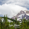 227  G Mt  Hood and Cloud