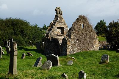 Bonamargy Friary Living quarters and headstones