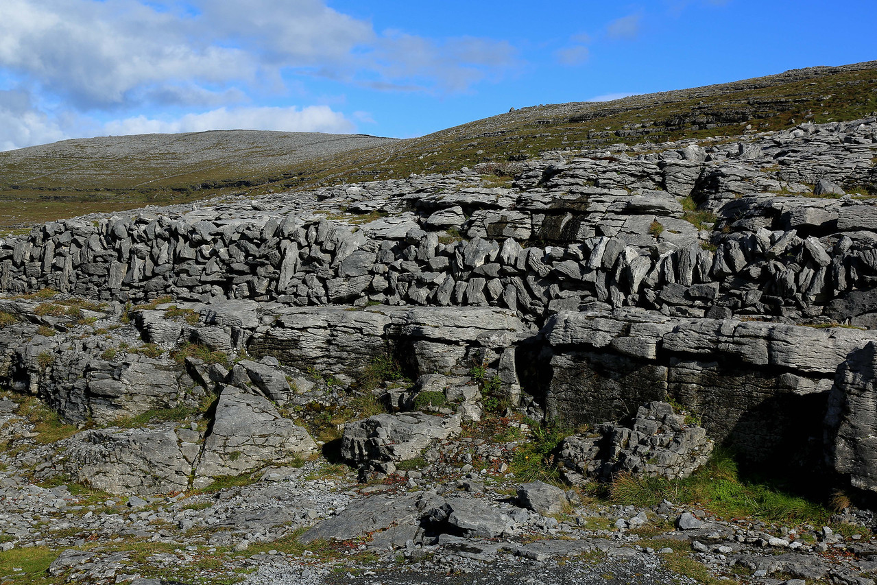 Limestone pavement on the Burren - SW Ireland