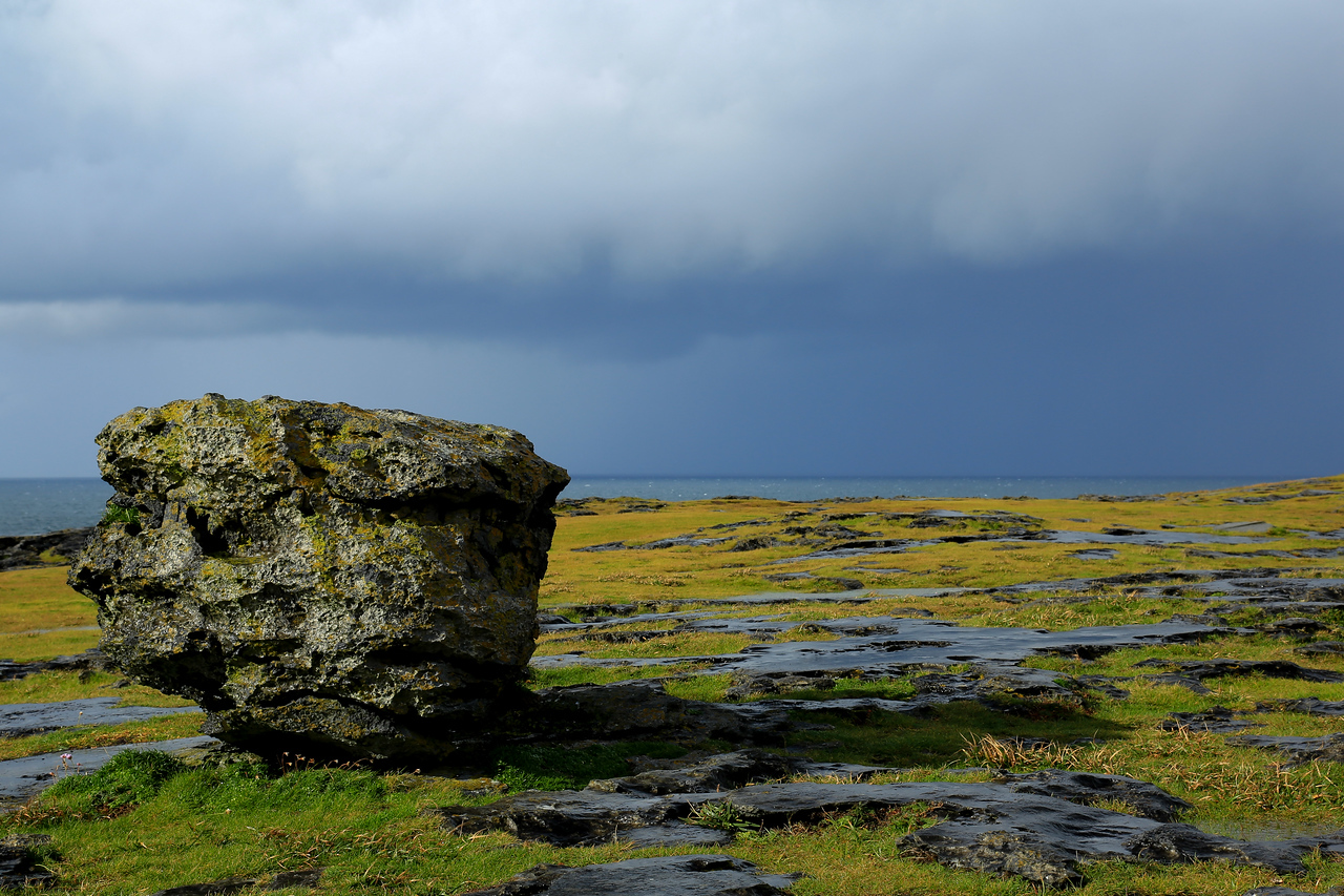 Evening storm near Doolin