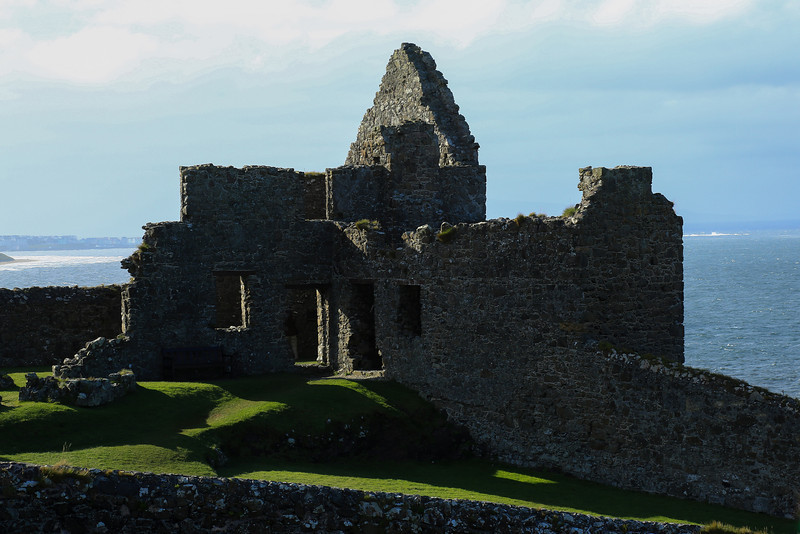 Evening at Dunluce Castle