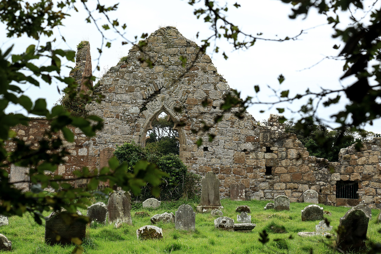 Bonamargy Friary, Ballycastle.  circa. 1500 AD