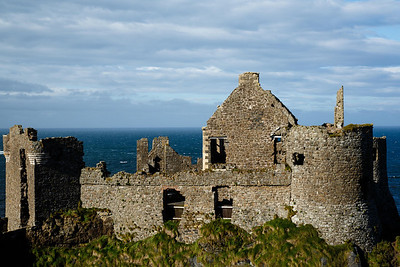 Dunluce Castle - 13th Century Along the Northern Causeway Coastal Route