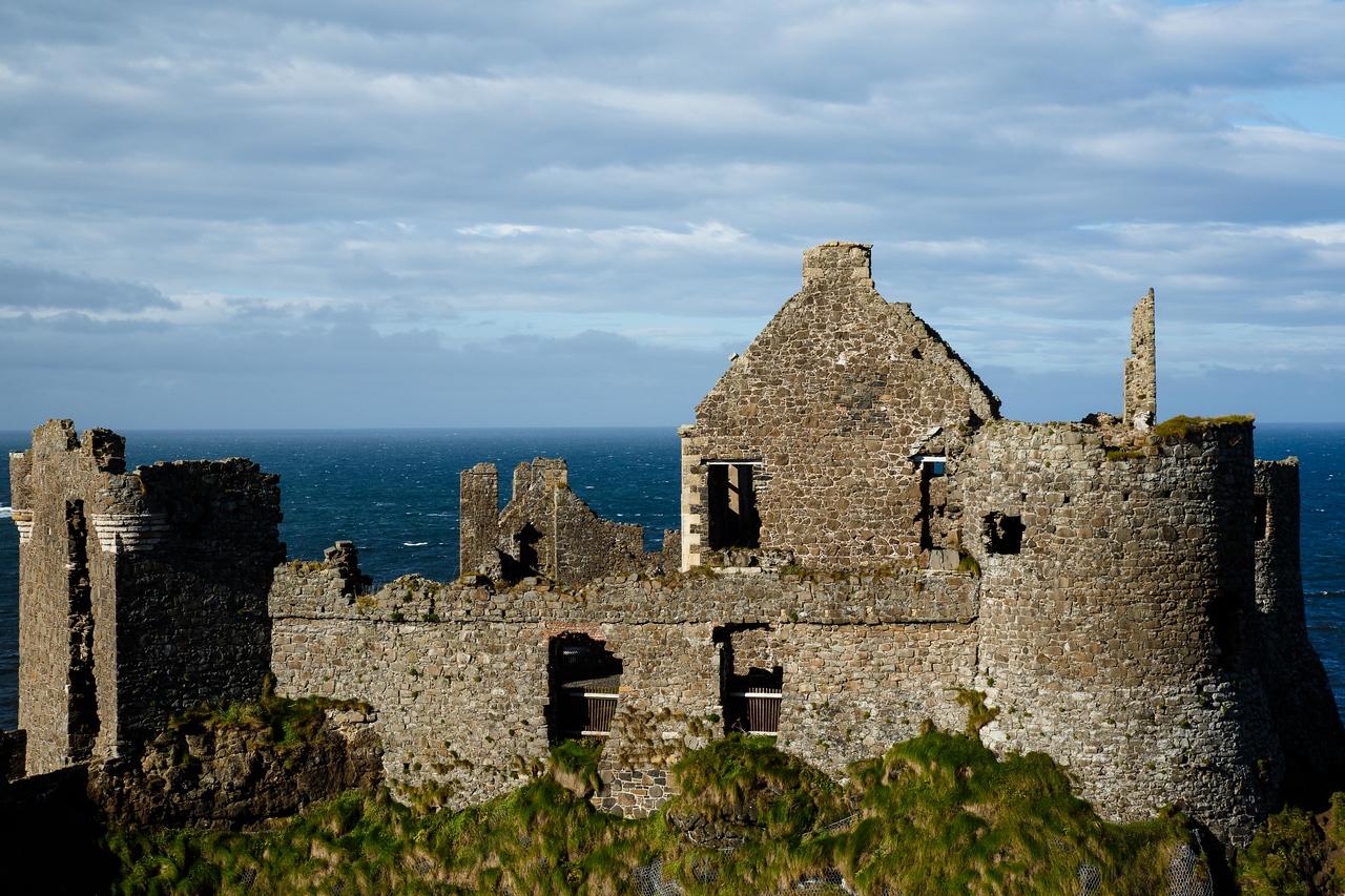 Dunluce Castle - 13th Century Along the Northern Causeway Coastal Route