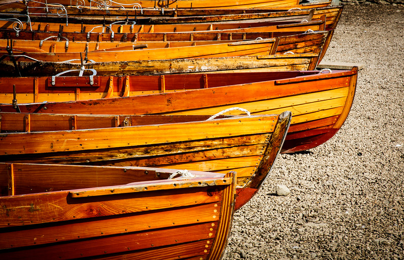 Boats at Derwentwater, Lake District