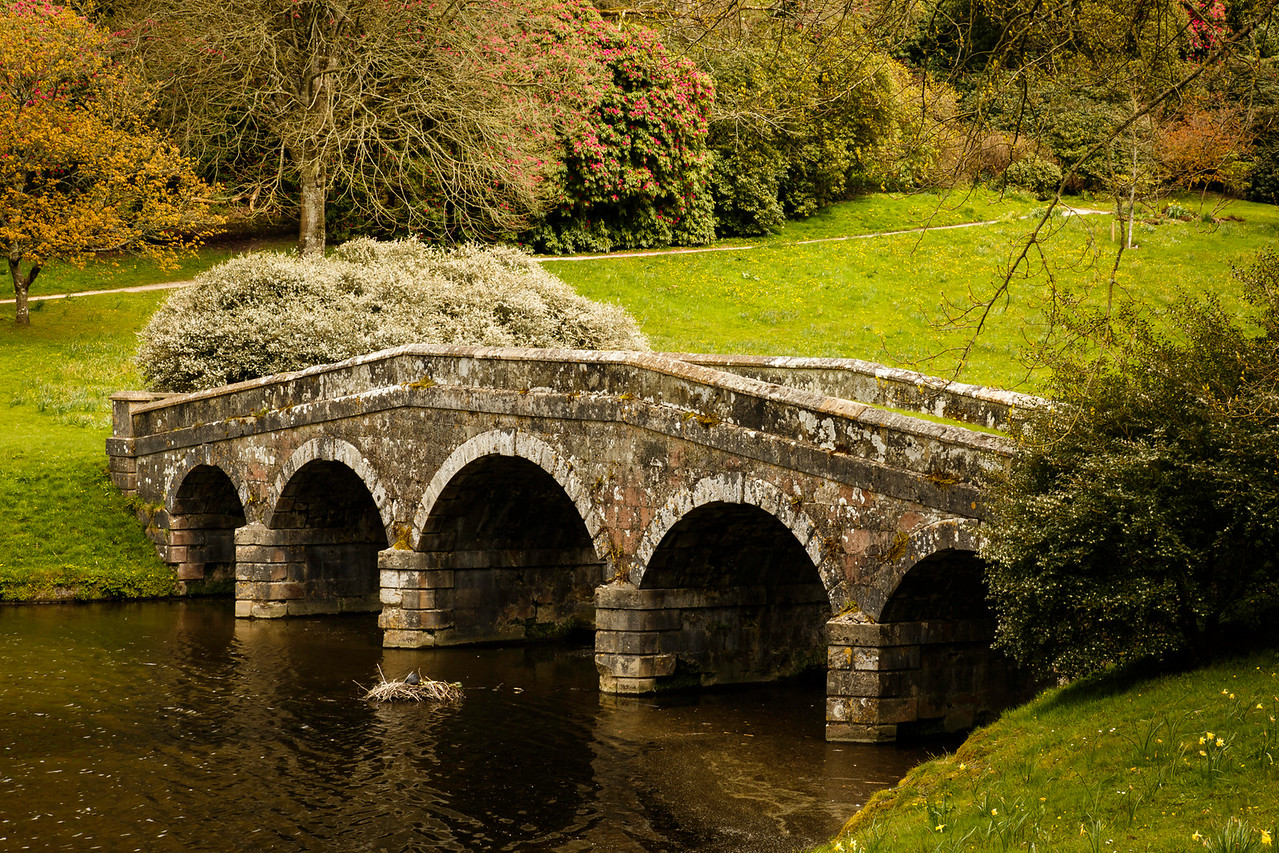 Bridge at Stourhead, Wiltshire