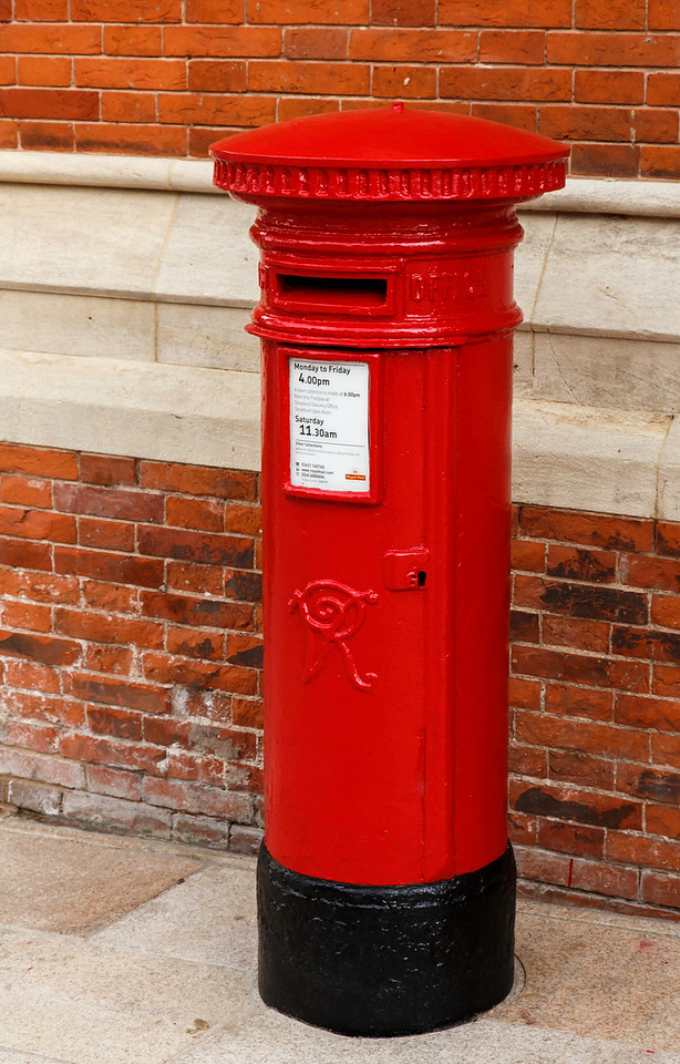 Post Box, Tintagel, Cornwall