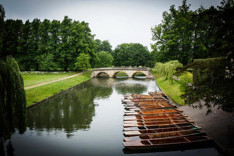 Punts on the River Cam, Cambridge