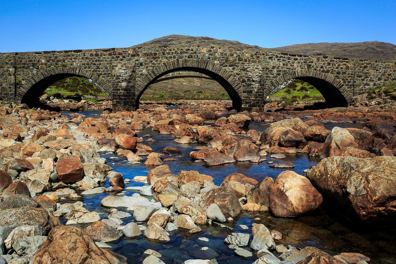 Bridge over River Drynoch, Isle of Skye