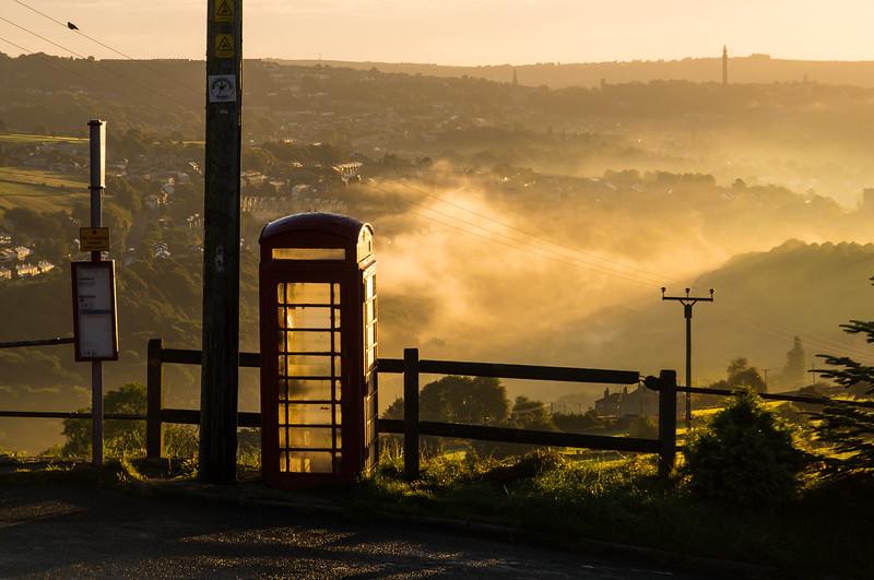 Telephone Box at Shield Hall Lane