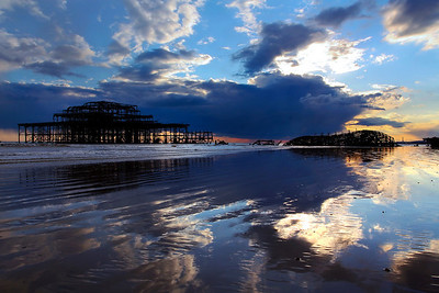 Brighton Pier, Reflections