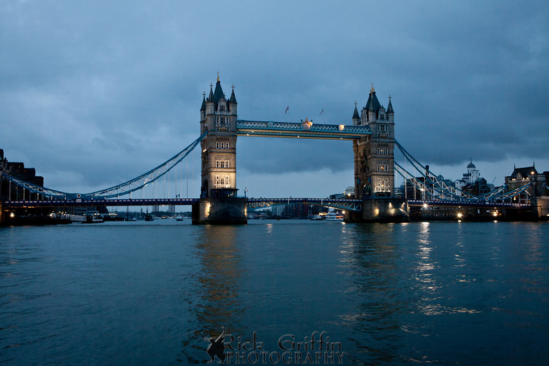 The Tower Bridge, London, England