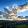 Sunset over Hebden Bridge