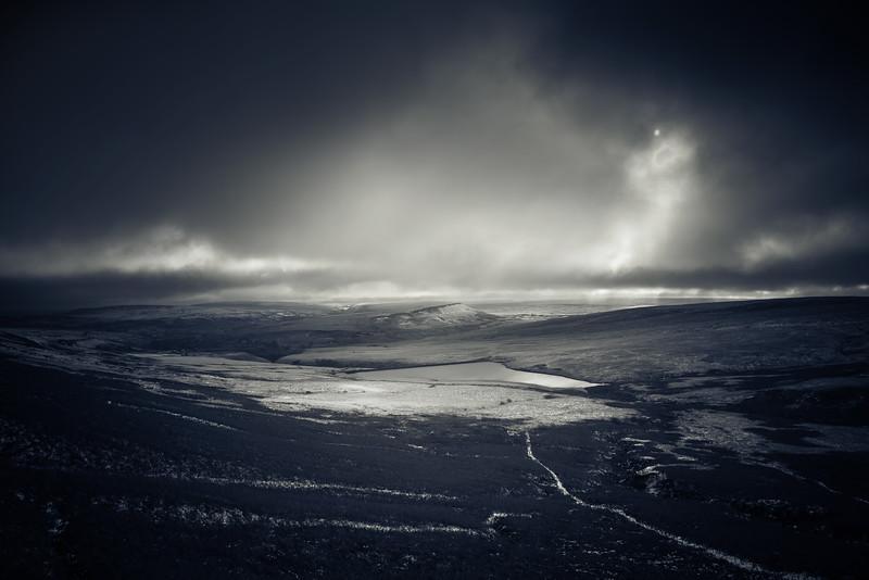 Saddleworth Moor at Winter