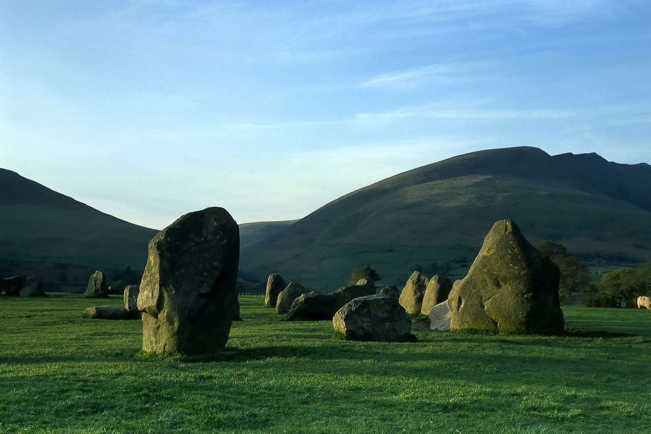 Castlerigg stone circle in the English Lakes