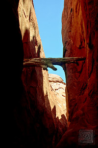 "‎""High Water Mark"", Spooky Slot Canyon, Escalante, Utah, Aug.'07"