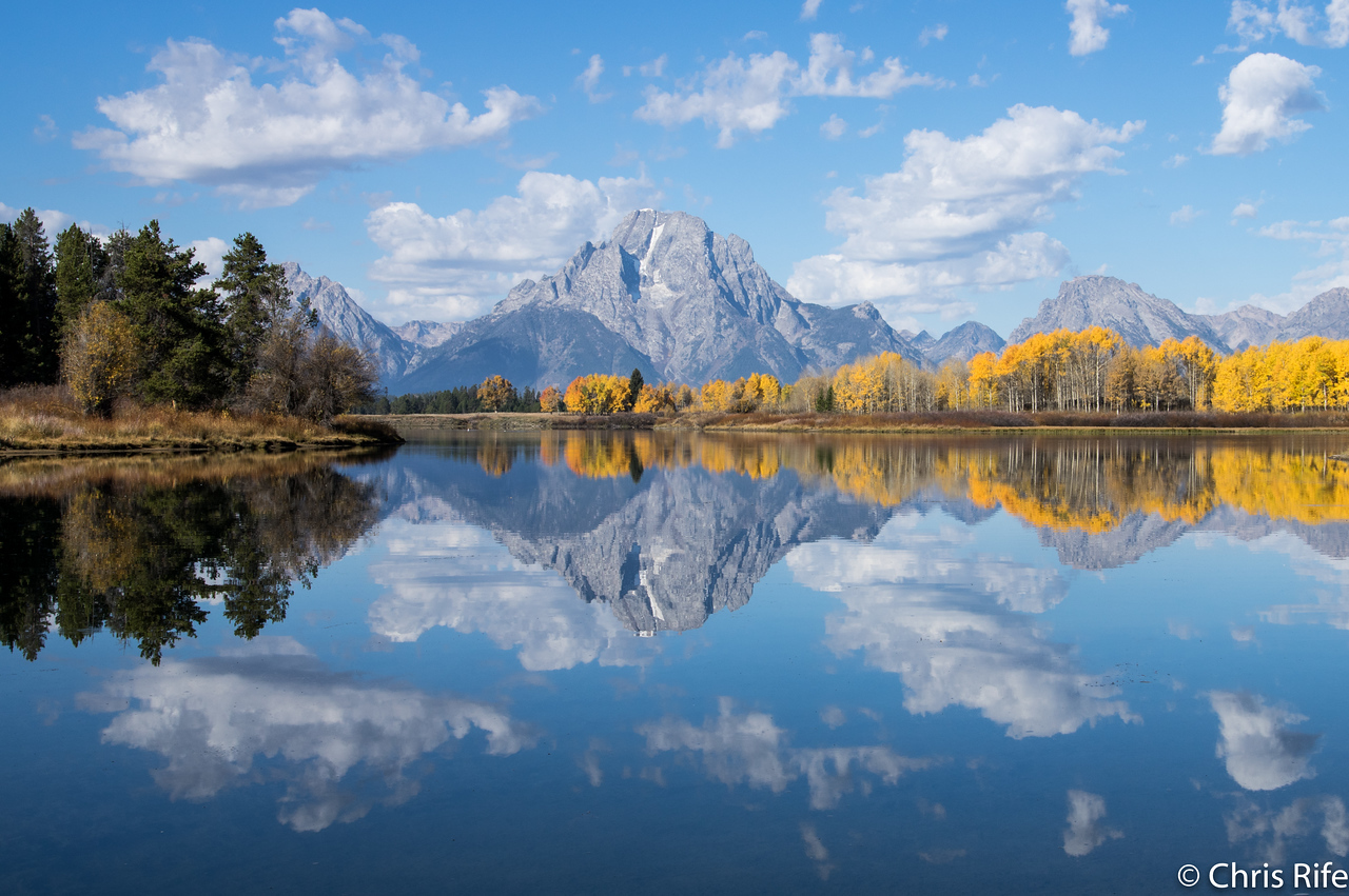 Oxbow Bend with incredible Aspens