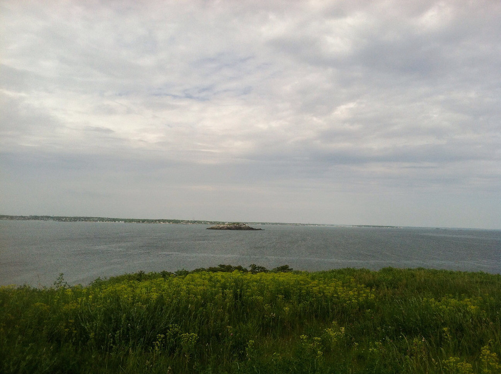 East Point Coastal Defense area and Egg Rock off the coast of Lynn Shore Dr.