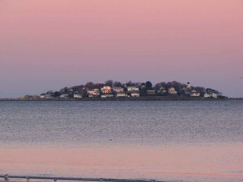 Little Nahant from Revere Beach