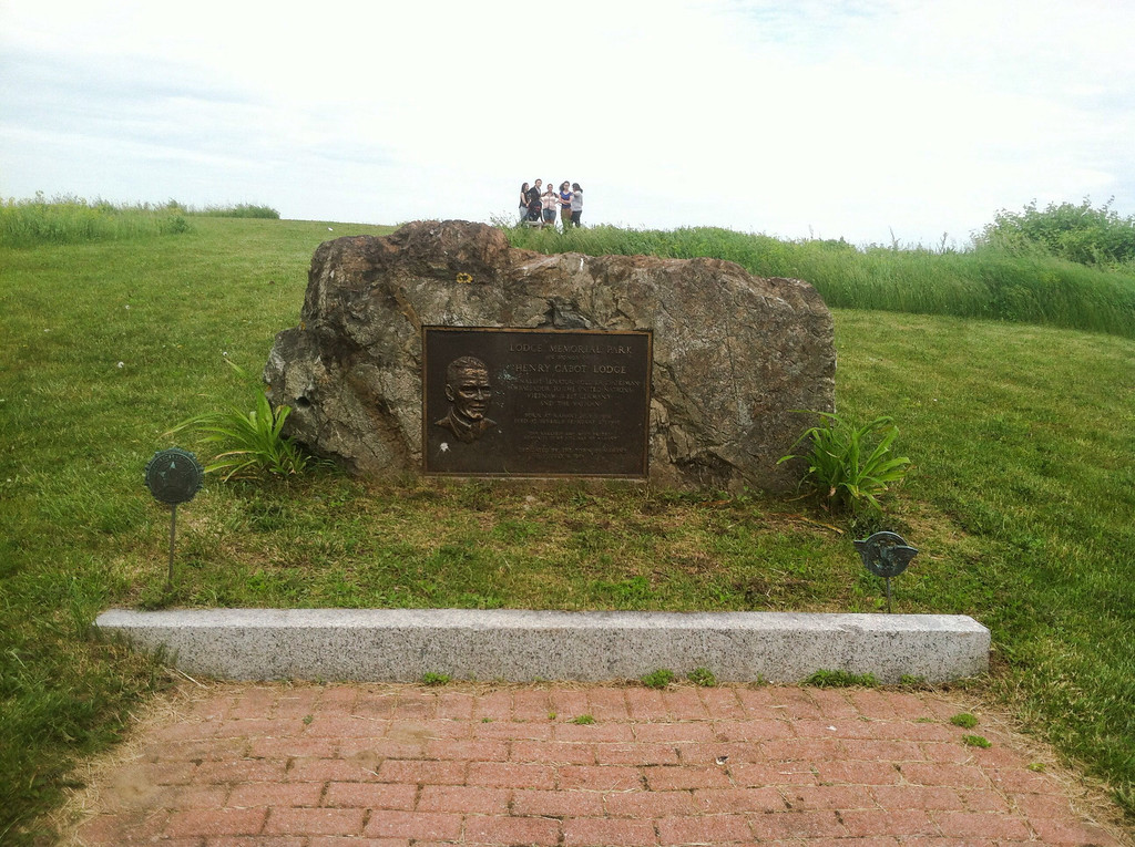East Point Coastal Defense area.<br /> <br /> The top of East Point was renamed Lodge Park after Henry Cabot Lodge who was born in Nahant. It's better than calling it the former NIKE coastal missile defense battery.