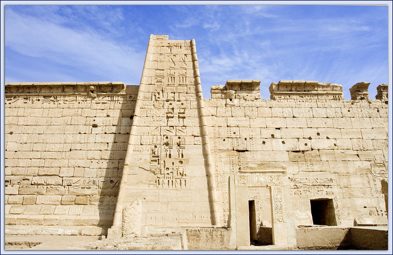 Temple of Ramesses III at Medinet Habu