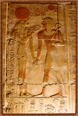 Temple of Seti I in Abydos