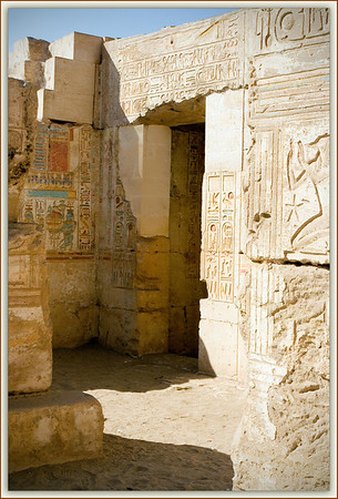 The Cenotaph Temple of Ramesses II at Abydos