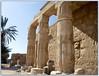 Mortuary Temple of Seti I at Qurna, Pillars and Wall Detail