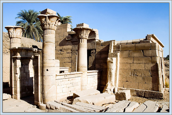 Temple of Ptah at Karnak in Luxor, Egypt