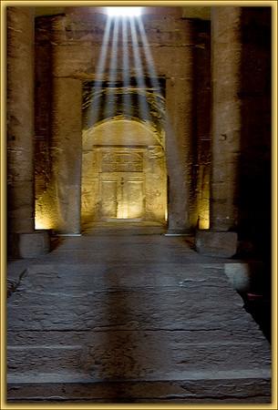 Seti I Temple Rays...Abydos, Egypt