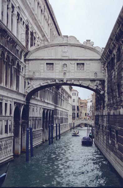 Bridge of sighs, Venice, IT