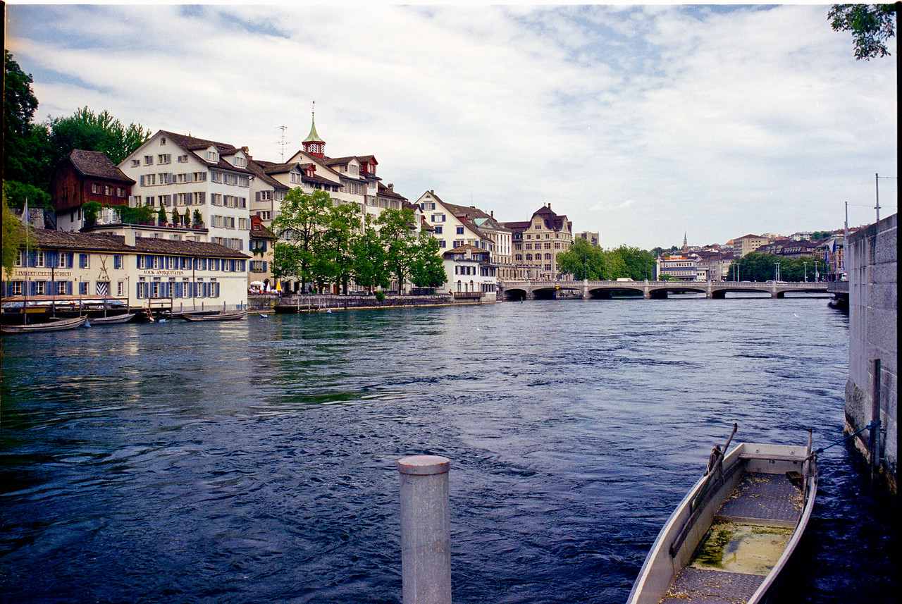 Limmat R., Zurich, CH