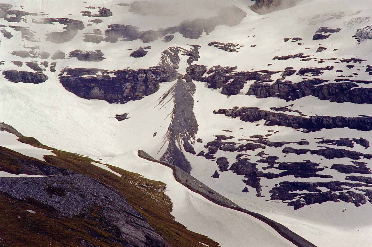 West flank of Mt. Monch, CH