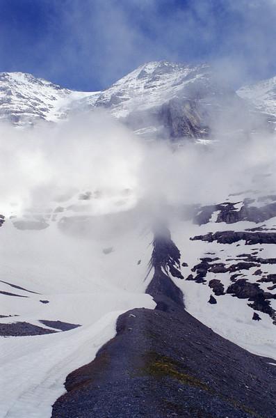 West flank, Mt. Monch, CH