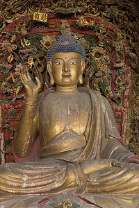 (CH-10063)  Buddha in Beichang Village.